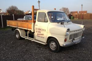 1978 S MK1 FORD TRANSIT PICKUP MK1 MARK1 INFULLY RESTORED CONDITION THRUOUT L@@K