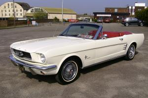 Beautiful 1966 Ford Mustang Convertible