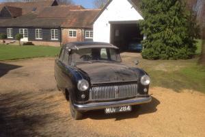 Ford consul mk1 1953 barn find not ford zodiac