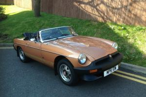 MGB ROADSTER LE STUNNING CONDITION NICEST IN UK MUST BE SEEN LAST OWNER 15years