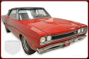 69 Dodge Coronet R/T Convertible Original 440  w/ 375 HP 4 Barrel Red/White