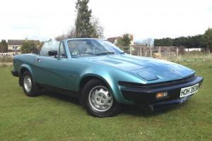 TRIUMPH TR7 2.0 Convertible with PAS! only 48000 miles. Last owner for 32 years!