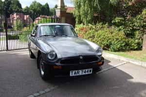 1981 MG B GT LE Pewter SILVER