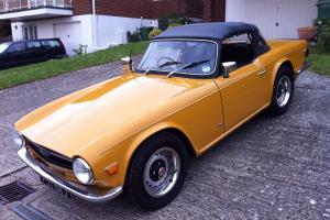 Triumph TR6. Overdrive, 1970, RHD. New MOT AND TAX