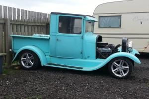 1929 ford model a pickup hotrod V8