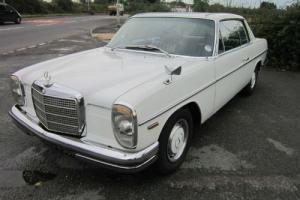 1970 MERCEDES - BENZ 250 CE AUTO RHD (white)