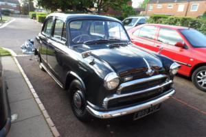 1955 Morris Cowley / Oxford, 34,000 miles, black, excellent condition
