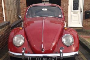 1967 VW Beetle one year only 1300 RHD