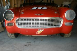 1962 Austin Healey Sprite Vintage Historic Race Car Photo