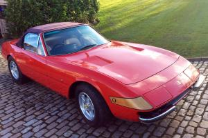 Ferrari Daytona Spyder 365 GTS/4 recreation by EG Autocraft