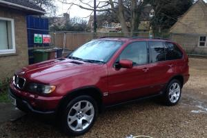 BMW X5 3.0D M sport fsh Rare metallic red Recent new gearbox