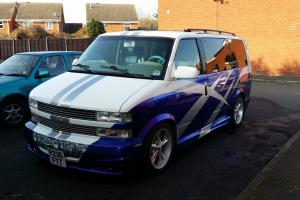 Chevrolet Astro Day Van, One Off Custom, like gmc safari,