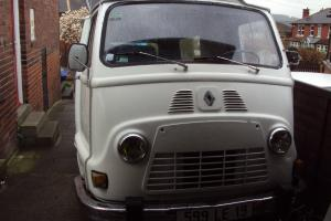renault estafette lhd low km one owner classic no reserve