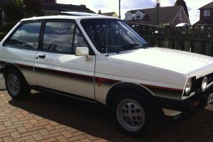 Mk1 Fiesta Xr2 In White 42,900 Miles From New. Not Modified No Swap/px