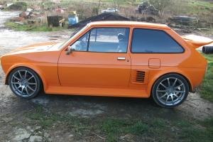FORD FIESTA MK1 / TOYOTA MR2; STUNNING AND AMAZING /PX CLASSIC FORD