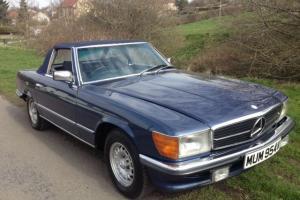 "1980 MERCEDES 350SL SPORTS HARD?SOFT TOP (R107Model) NEW MOT REG # ""MUM 954V"""