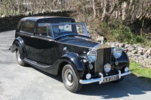 1954 Rolls-Royce Silver Wraith Sedanca de Ville WVH95 Photo