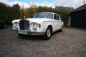 ROLLS ROYCE SILVER SHADOW 1975 CLASSIC CAR.
