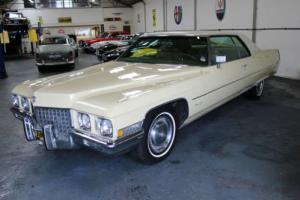 Cadillac Coupe De Ville 1971 American Car