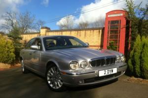 2003 53 Jaguar XJ8 SE V8 Automatic XJ Series Silver met ** 2 Owners FSH **