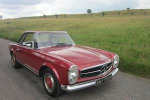 1969 Mercedes-Benz 280 SL W113 PAGODA 4 SPEED AUTO (metallic red)