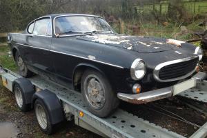 1971 Volvo P1800E 54,000 mile Coupe for restoration P1800 P1800S P1800ES P 1800