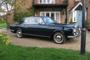 1973 Rolls Royce Corniche FHC