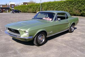 Well Optioned 1968 Ford Mustang V8 Coupe