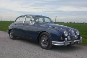 ORIGINAL MATCHING NUMBERS 1962 JAGUAR MK 2 MOD - GENUINE BIG BUMPER MODEL