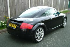 2002 AUDI TT 1.8 TURBO QUATTRO COUPE, FULL SERVICE HISTORY,BLACK + BLACK LEATHER Photo