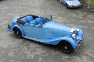 1935 Bentley 3 1/2 ltr Barker Drophead Coupe B168E