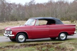 1964 Hillman Super Minx Convertible, 83000 miles from new, 2 owners