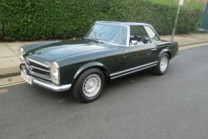 Mercedes-Benz SL 280 Automatic left hand drive 1971