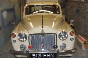 rover p4 105r 1958 very rare automatic mot & tax dec 2014 now sold