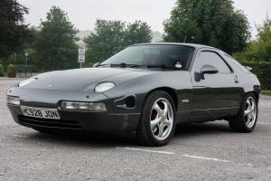 PORSCHE 928, S SERIES 4, 1991, AUTO METALTIC GREY (custom mint)