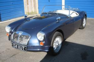 MGA Roadster car fitted with Rover V8