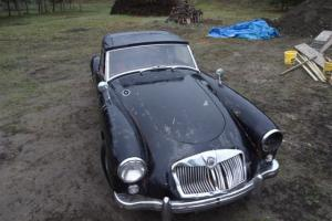 MG MGA 1958 All original, great restoration project. Low reserve price!