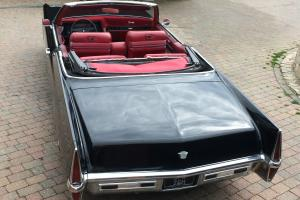 American 1970 Cadillac Deville Convertible hotrod i like harley motorbikes