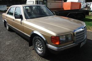 Mercedes Benz 280 SE 1984 4D Sedan 4 SP Automatic 2 7L in Frankston, VIC