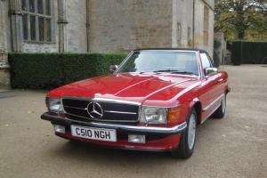 1985 Classic Mercedes 280SL - Red Sports Convertible