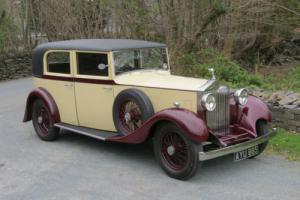 1934 Rolls-Royce 20/25 Park Ward Saloon