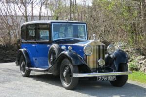 1934 Rolls-Royce 20/25 Windovers Limousine GLB8