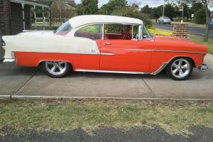 1955 Chev BEL AIR 2 Door Sports Coupe in Melton South, VIC