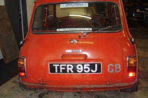 Mini Cooper S 1275 1971 Barn Find Rare Car, John Cooper Provenance