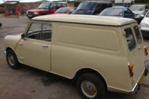 Mini Van 1981 Tax & MOT