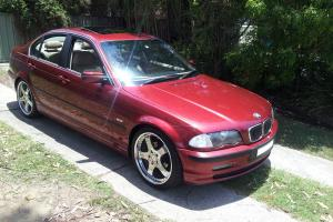 NO Reserve BMW 323i E46 4D Sedan Auto Stept 2 5L Multi Point F INJ 9mths Rego