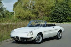 1967 Alfa Romeo Spider 1600 Duetto RHD
