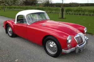 1960 MGA 1600 COUPE IN CHARIOT RED - 1 YEARS MOT TAX EXEMPT