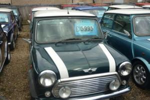 1998 Rover Mini Cooper in British Racing Green