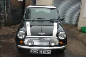 1990 Rover Mini Cooper RSP in Black with 32 miles